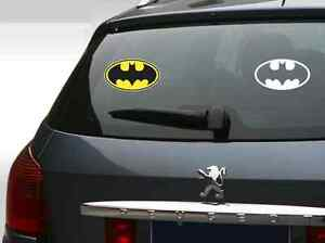 Batman Superheroes Dc Vinyl Car Window Decal 5x3