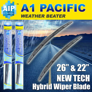 Hybrid Windshield Wiper Blades Bracketless J Hook Oem Quality 26