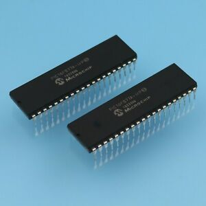 25pcs Pic16f877a i p Pic16f877a Microcontroller Dip40 New Good Quality