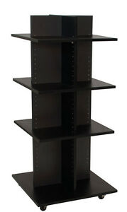 Shelf Tower Clothing Display Retail Store Merchandisers Fixture Knockdown New