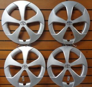 1 Set Fits 2012 2013 2014 2015 Toyota Prius 15 Hubcaps Wheel Covers 61167