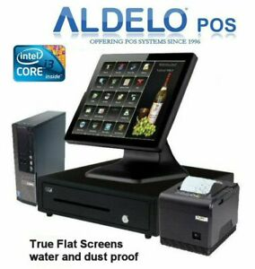 Aldelo Pos Pro Pizza Restaurant Preferred Complete System I3 Win 7 New Very Fast