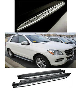 For 12 15 Mercedes Benz W166 Ml class Ml350 16 19gle350 Running Board Side Step