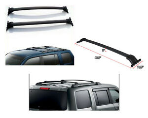 For 09 15 Honda Pilot Roof Rack Cross Bar Luggage Carrier Bar Oe Style Pair Set