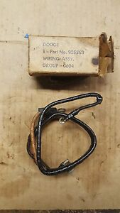 Military Dodge W c Weapons Carrier Wiring Harness Starter To Radio Filter G502