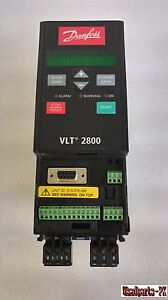Danfoss Vlt 2800 vlt 2811pd2b20str0dbf00a00c0 Inverter Power On Tested