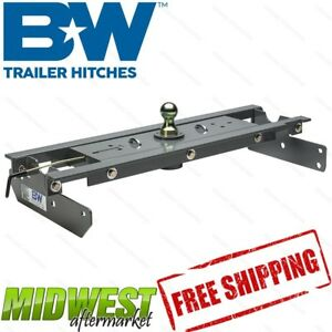 B w Turnover Ball Gooseneck Hitch Fits 2017 2018 Ford F 250 F 350 Superduty 4wd