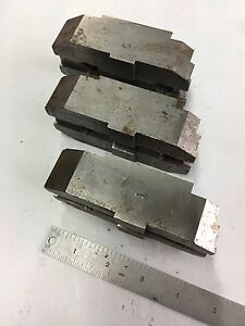 Daco Jaw Company Soft Top Jaws Lathe Scroll 12 Chuck 3 Piece Set