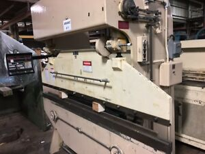 Di acro Model 16 96 Hydra mech Press Brake W autobend 6 Cnc Controls