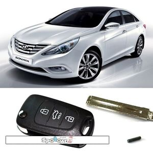 Door Remote Control Folding Key For Hyundai I45 Yf Sonata 2011 2012 Oem Parts