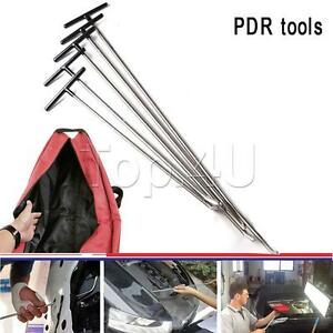 5x Tools Rods Kit Ding Dent Paintless Repair Dent Removal Auto Body Removal