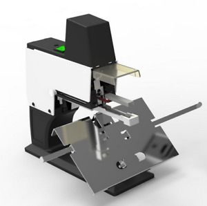 Table Movable Flat And Saddle Stapler Auto electric Binder Machine Only 220v