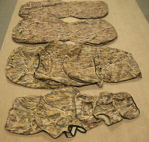 Seatsaver By Covercraft True Timber Camo Seat Covers Front Back Ss3381ttft