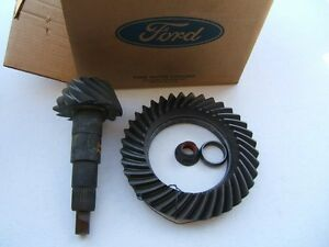 Oem Ford E8sz 4209 A 7 5 Differential Ring Pinion Gear 3 08 Ratio
