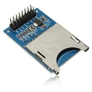 2pcs Sd Storage Board Sdhc Card Reader Memory Shield Module For Arduino Us