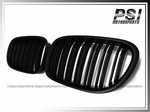 Matte Black Front Kidney Grille For 2008 2015 Bmw 7 series F01 F02 740i 750i