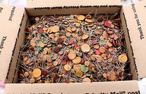 Large Disc Ceramic Assortment 13lb Medium Flat Rate Box Full