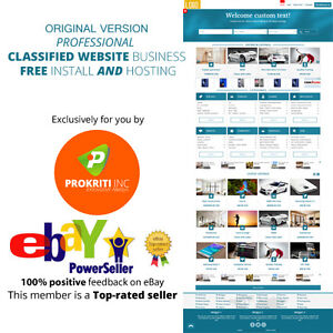 Original Professional Classified Website Business Free Install And Hosting