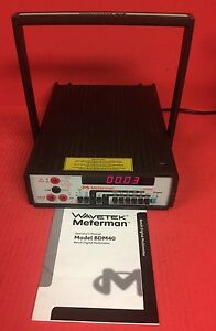 Wavetek Meterman Model Bdm40 Bench Digital Multimeter With Manual