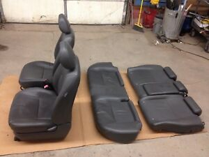 04 09 Toyota Prius Complete Gray Leather Interior Front Rear Covers Set Oem