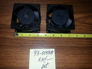 10hp Vector Drive Fan Set Of 2 Each As Compared To Haas Pn 93 0153a