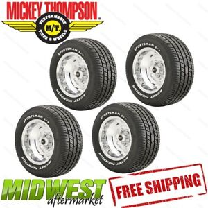 90000000181 Mickey Thompson Sportsman Radial Tire P235 60r15 Set Of 4