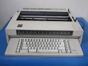Used Ibm Wheelwriter 3 Electronic Typewriter
