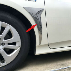 Car Front Outside Air Vent Fender Cover Trim Fit Toyota Prius 2016 2017