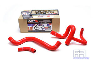 Hps Silicone Radiator Coolant Hose Kit For Dodge 12 15 Dart 1 4t 1 4 Turbo Red