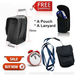 Contec Promotion Pouch Bag Case Lanyard Protector For Fingertip Pulse Oximeter