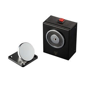 Electric 50kg 110lbs Smokeproof Anti residual Magnetism Wall Mount Door Holder