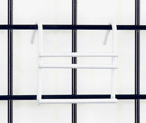 Slatwall Slat Adapter Grid Gridwall Panel Retail Store Display Fixture White New