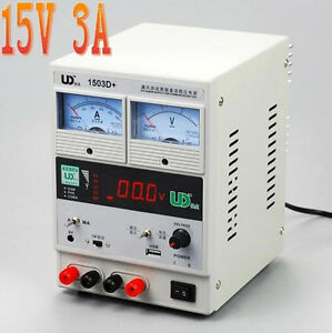 Ce 220v Adjustable Regulated Dc Power Supply Laptop Mobile Phone Repair Power 3a
