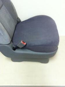 Seat Cover For One 1 Bucket Seat W 1 Foam Cushion Bottom Only dark Gray