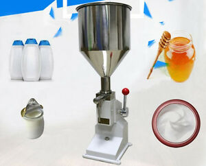 Ce A03 Manual Filling Machine For Cream Shampoo Cosmetic Lube Fluid Food