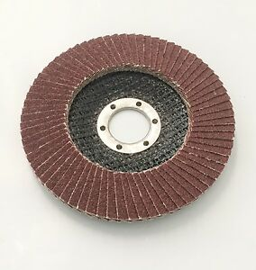Lot 20 4 1 2 X 7 8 Flap 80 Grit Wheel disc Aluminum Oxide