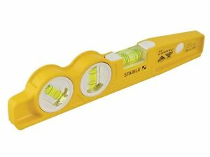 Stabila 81sv Rem W45 Rare Earth Magnetic Torpedo Level 25cm Fixed
