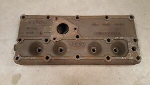 Jeep Willys M38 Cj2a Cj3a industrial Engine Head L134 Nos Mb Gpw G503 G740