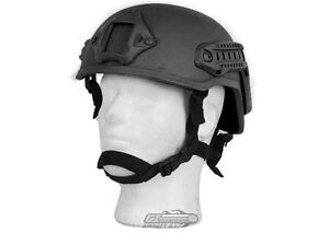 Lancer Tactical MICH 2001 NVG Helmet (Black) 11614