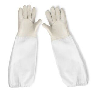 Beekeeping Gloves Canvas Protective Bee Keeping Supplies With Vented Long Sleeve