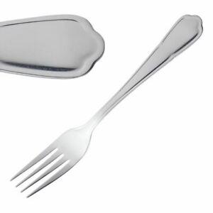 Olympia Dubarry Dessert Fork Stainless Steel 18 0 Pack X12 190 l mm