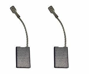 2x Carbon Brushes Use On Metabo 177 Grinder size 6 X 16 X 24