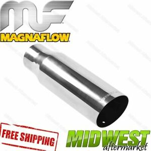 35104 Magnaflow Exhaust Tip Angled Cut Single Wall 3 Inlet 3 5 Outlet