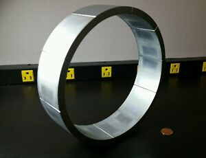 Huge Neodymium Ring Magnet Rare Earth N33uh Ultra High Heat Strong
