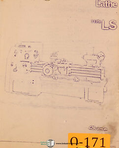 okuma type ls - $43 00  okuma type ls lathe parts manual