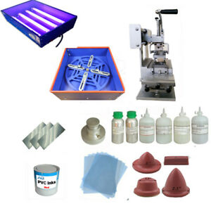 Manual Oil Cup Pad Printing Machine Full Kit Printer Photosensitive