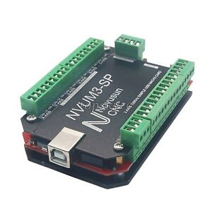 3 Axis Usb Mach3 Card 100khz Cnc Stepper Motor Driver Motion Controller Board