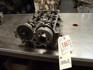03 05 Lincoln Ls 6 183 3 0l Right Cylinder Head 306 01886r 1x4z6049aarh