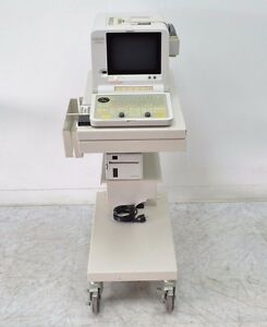 Hitachi Eub 405 Ultrasound System W Printer Cart Remote no Probe 12543
