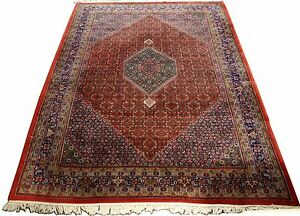 Antique Bijar Persian Very Large Area Rug 9 X 11